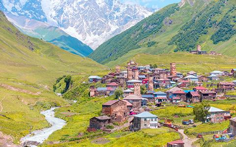 Vandreferie i Georgien - Svaneti