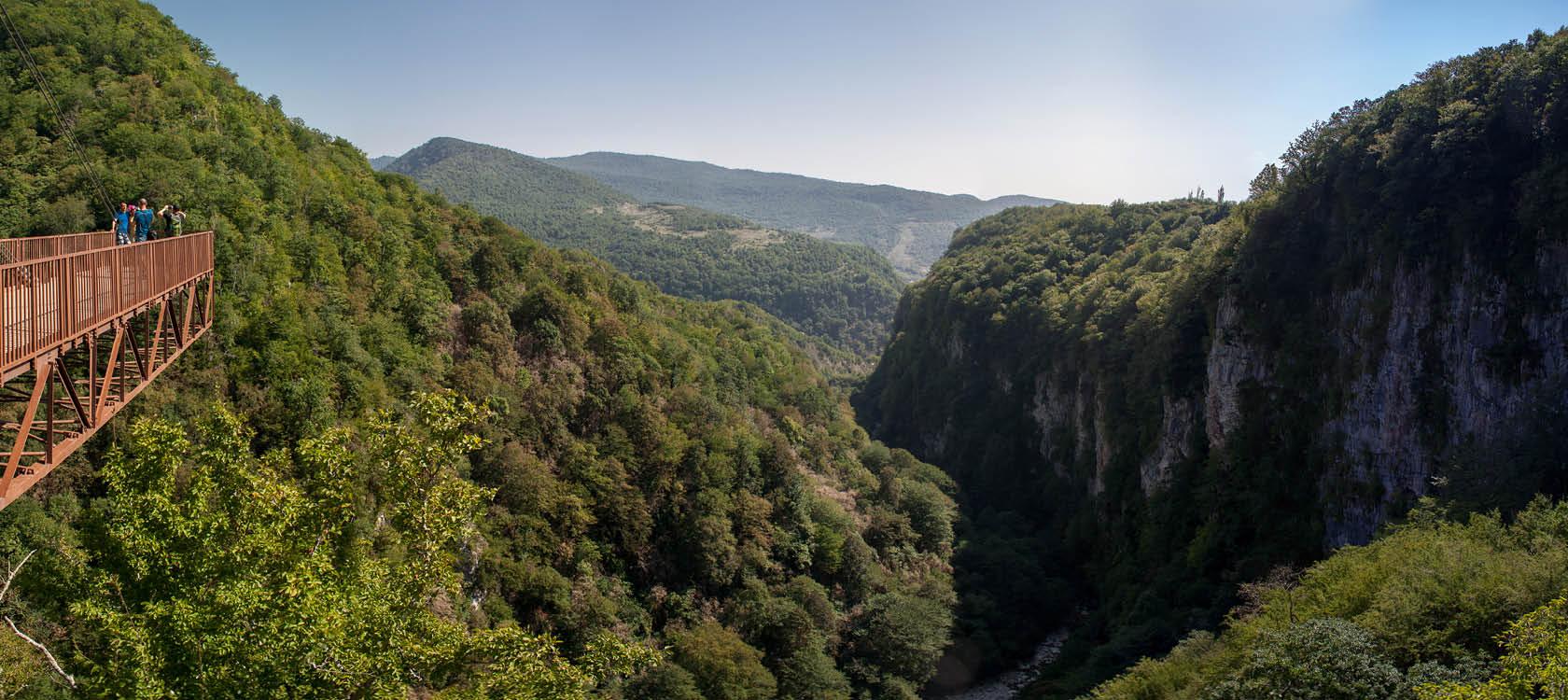 Vandreferie i Kaukasus