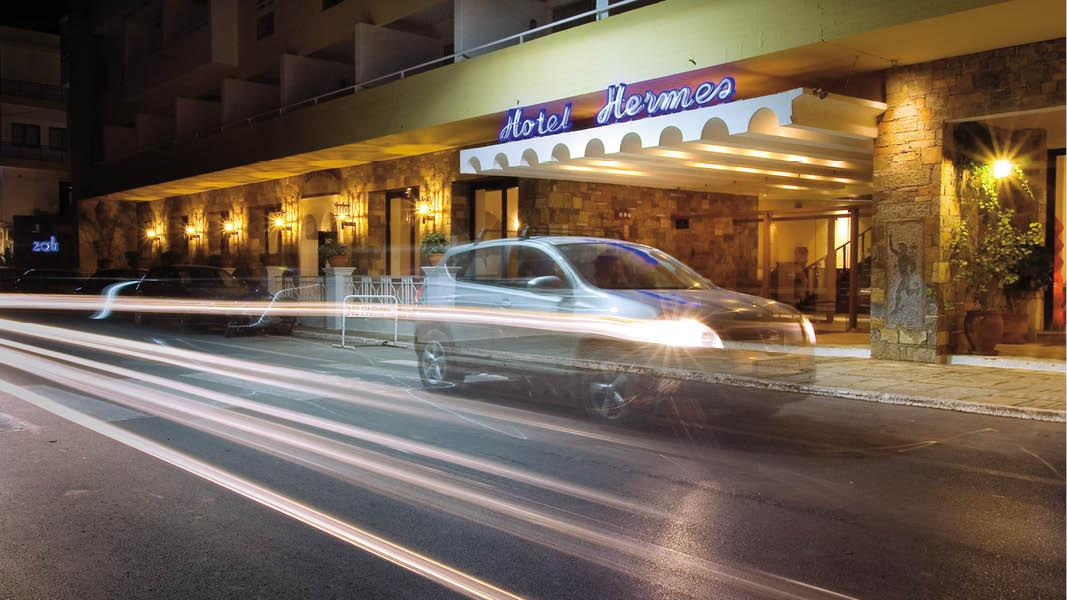 Poolområde på Hotel Hermes, Kreta