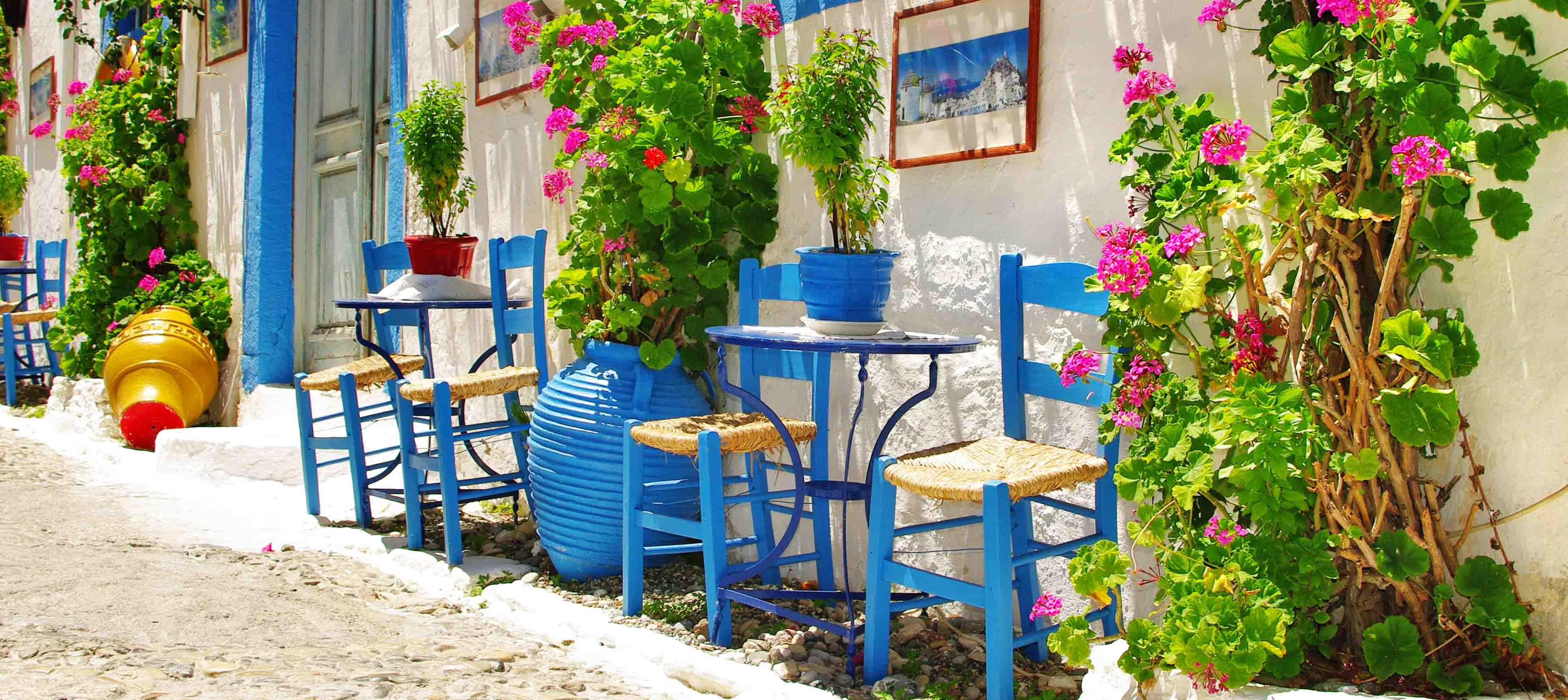 Klassisk arkitektur på Kreta, Grækenland