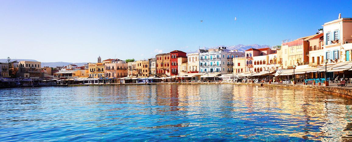 Chania på Kreta, Grækenland
