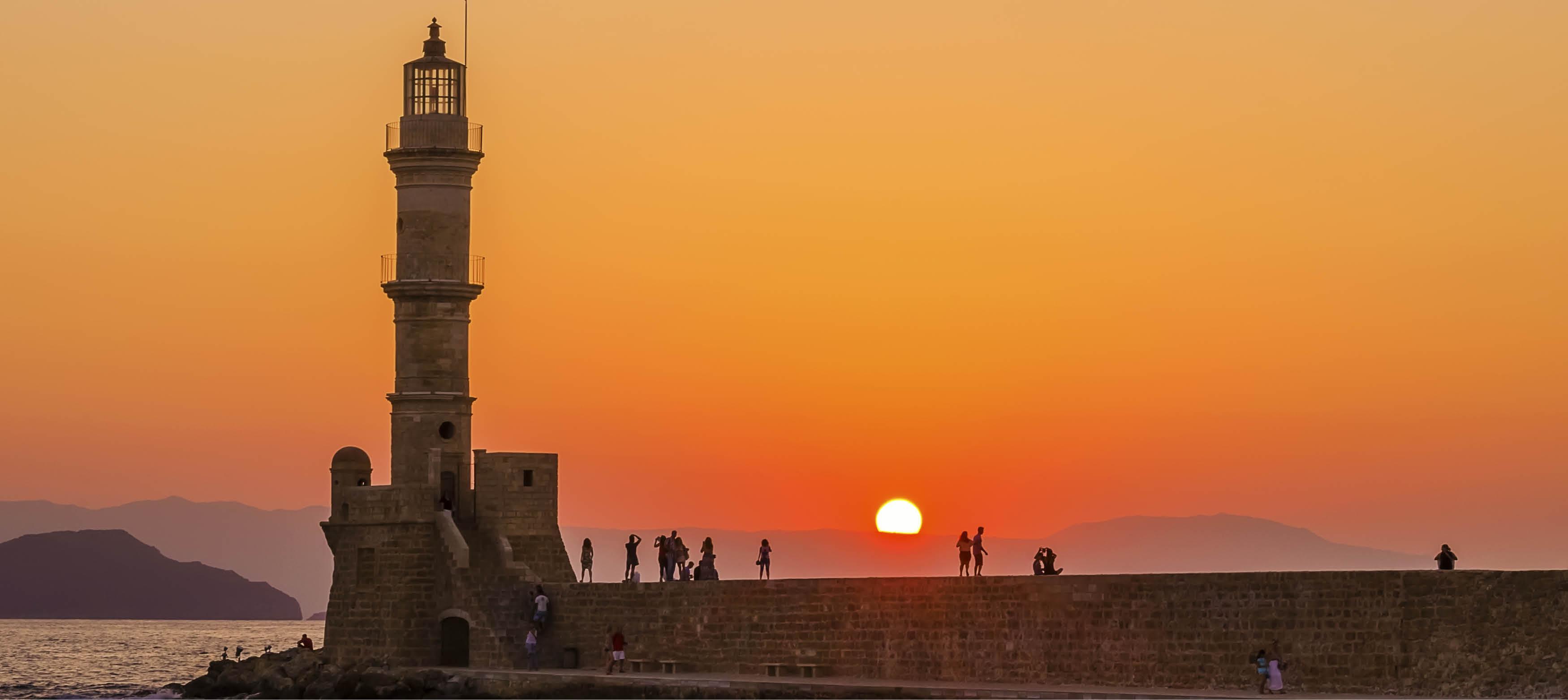 Fyrtårnet i Chania på Kreta