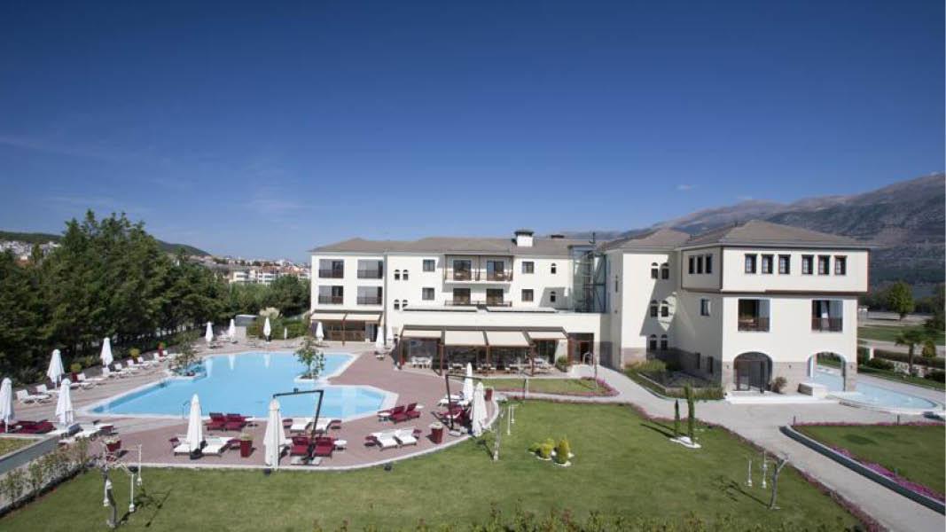 Hotel Du Lac pool, Nordgrækenland