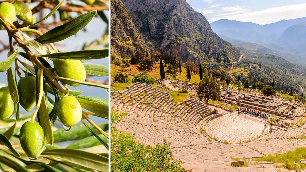 Amfiteater i Delphi, Nordgrækenland