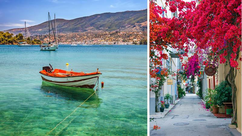Peloponnes i Grækenland med Erasmus++