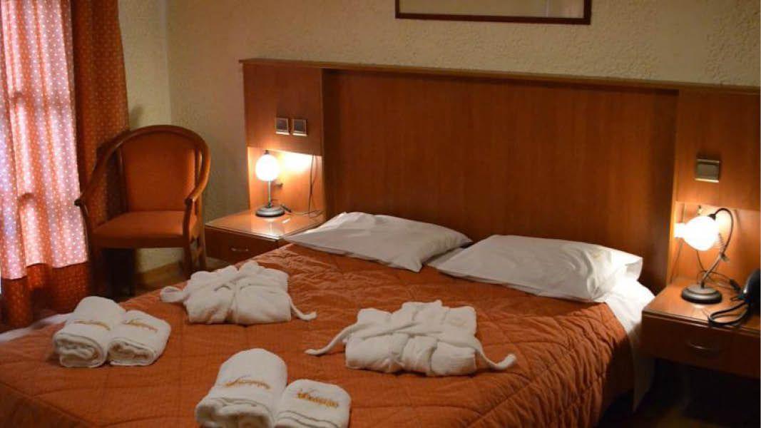 Hotelværelse på Hotel Filoxenia i Grækenland