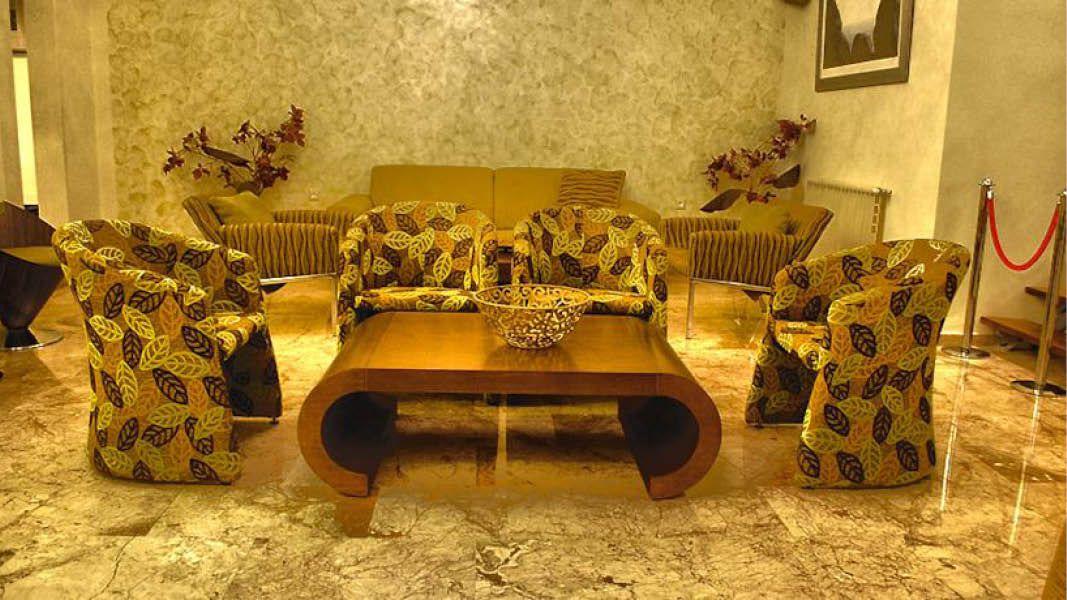 Lounge på Nafplia Hotel, Grækenland