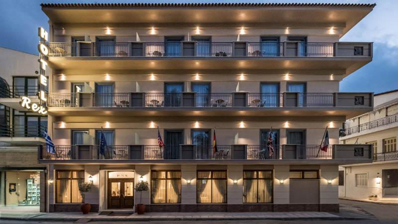 Rex Hotel Nafplio på eferårsafgangene