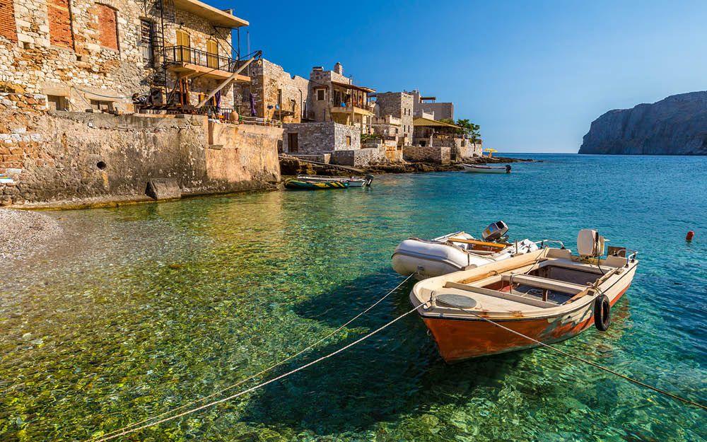 Unik rundrejse på Peloponnes