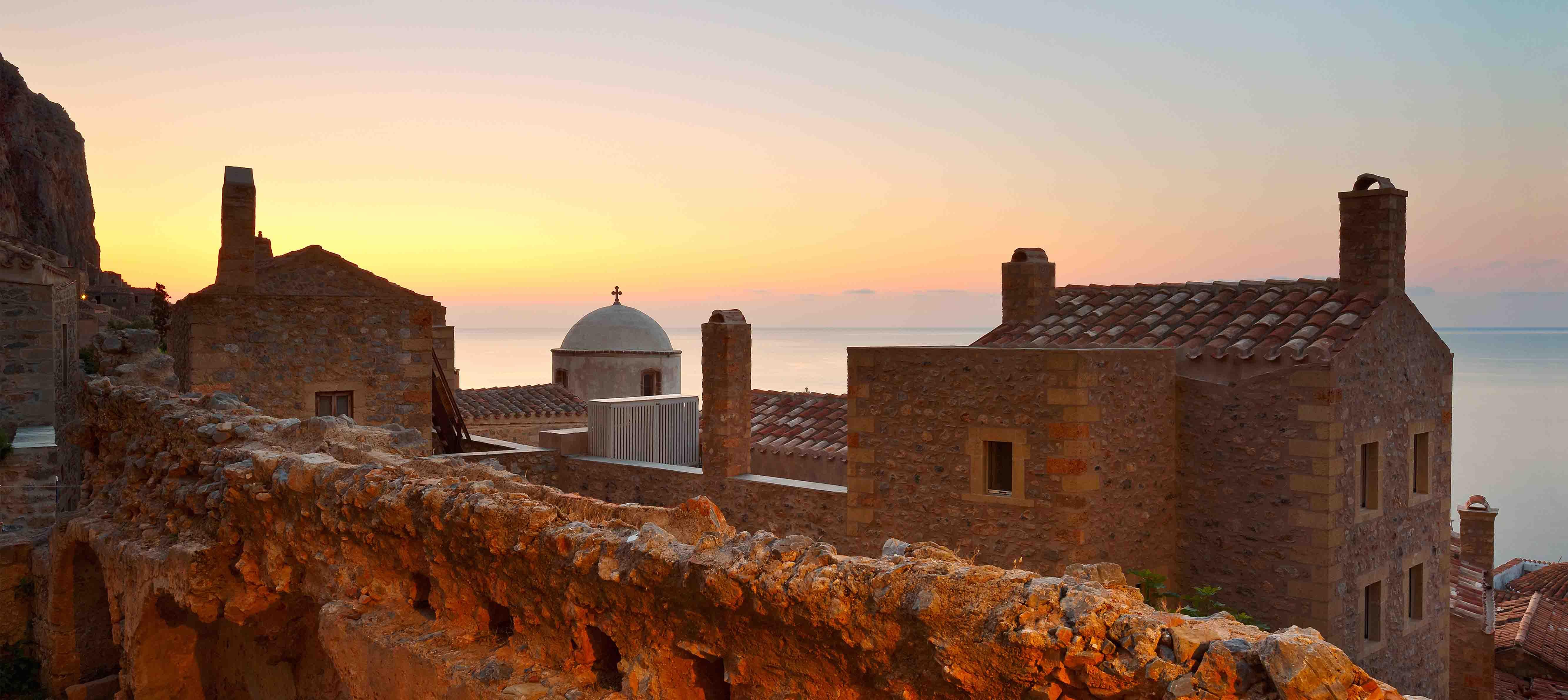 Monemvasia, Peloponnes, Grækenland