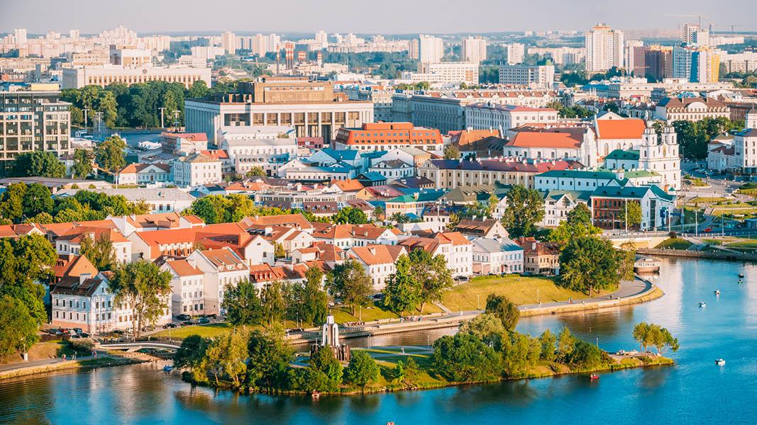Minsk by i Hviderusland