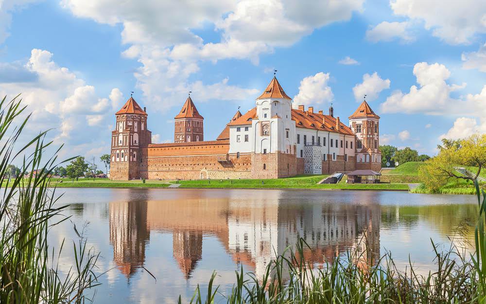 Hviderusland bag facaden