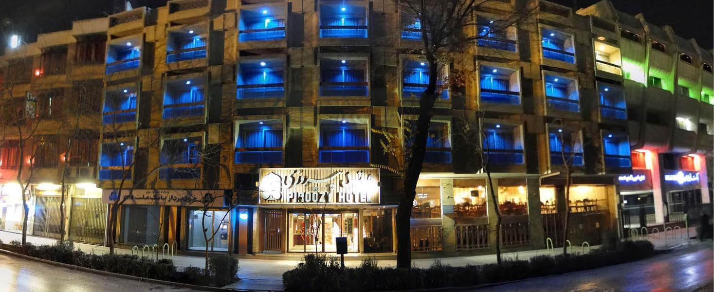 Facade p� Pirozzy Hotel