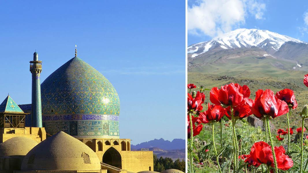 Shah moskeen i Iran
