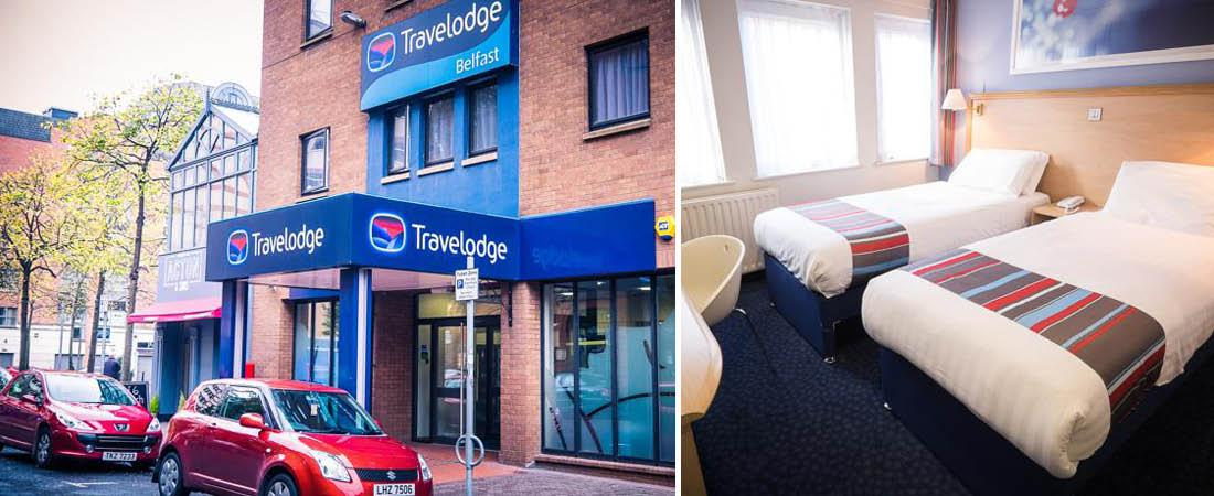 Travelodge i Belfast, Irland