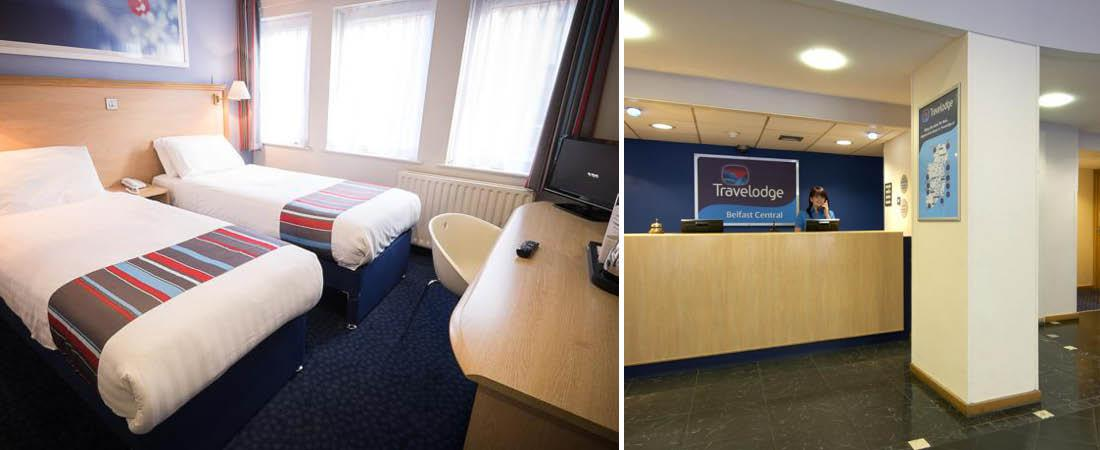 Hotelv�relse p� Travelodge i Belfast