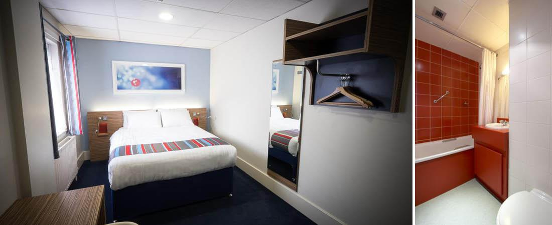 Stort hotelv�relse p� Travelodge i Belfast
