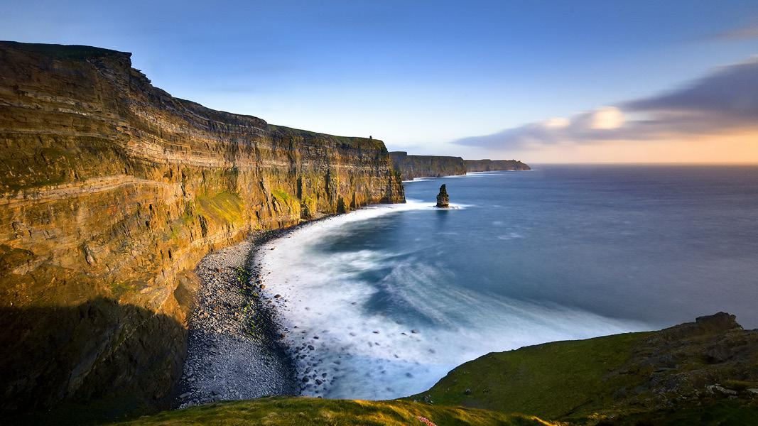 Cliffs of Moher i Irland