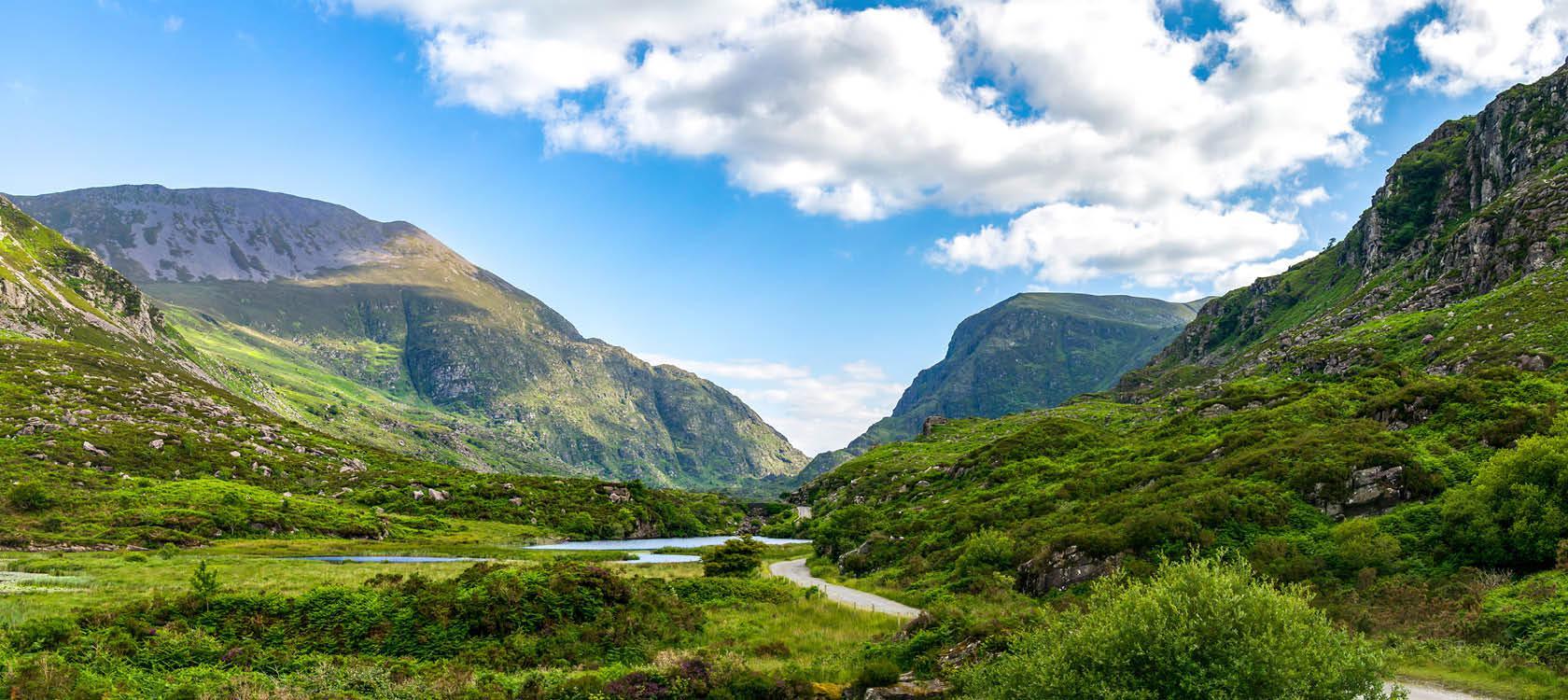 Skøn natur i Irland