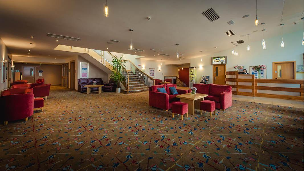 Reception p� Viking Hotel Waterford