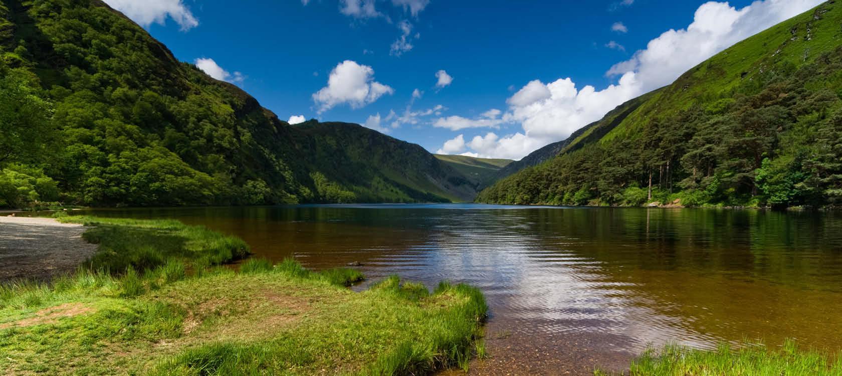 Vandringer i den grønne natur, Irland