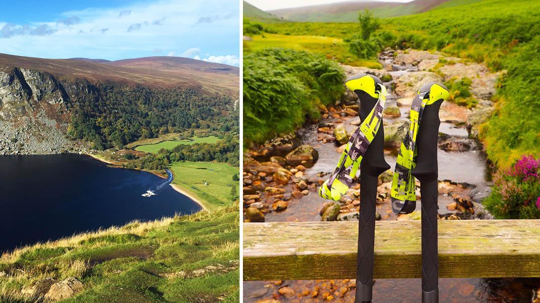 Vandringer ved Guinness-søen og små floder, Irland