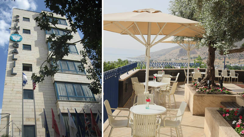 Prima Galil Hotel i Tiberias