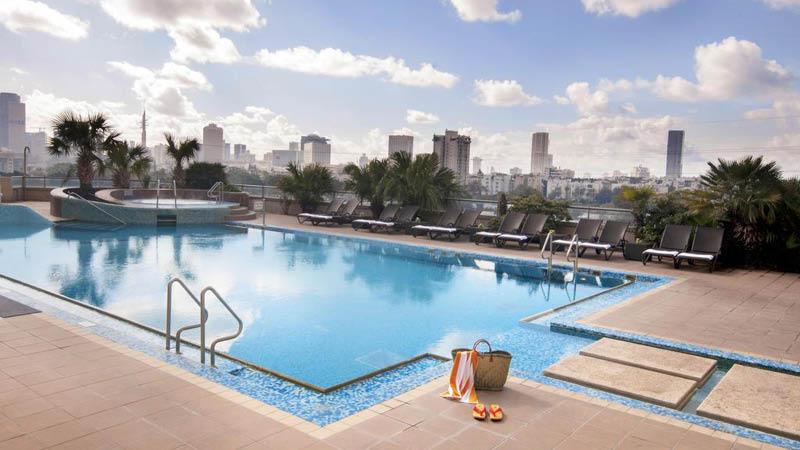 pool på leonardo city tower hotel tel aviv israel