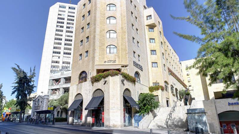 Lev Yerushalayim Hotel set udefra