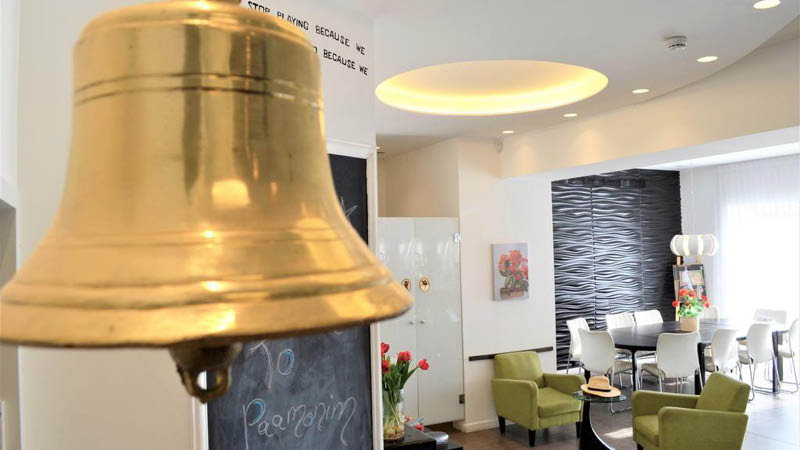 Paamonim Hotel Jerusalem lounge