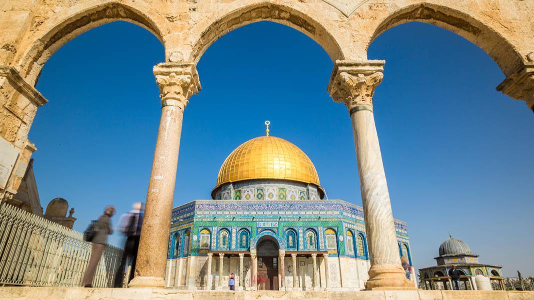 Israel ferie, Israel rejse, jerusalem, alaqsa moske, s�jler