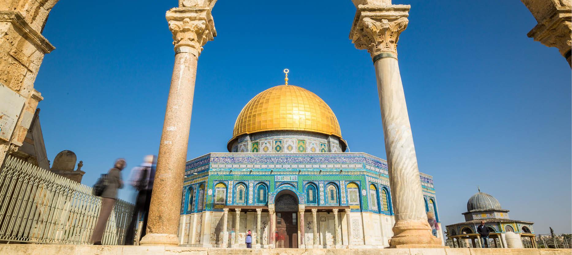 Alaqsa moske i Jerusalem, Israel
