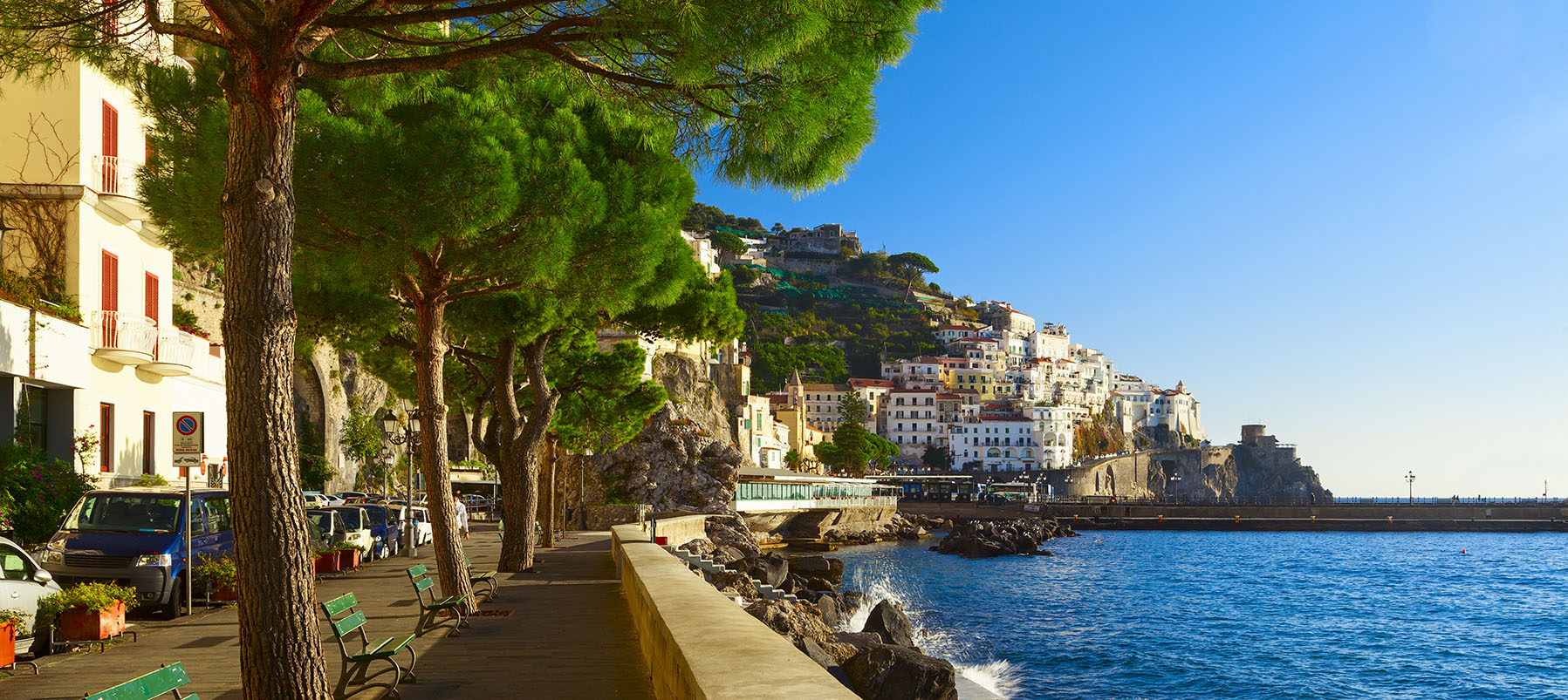 Amalfi a la carte med Kulturrejser Europa