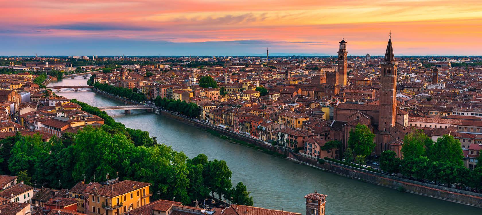 Operarejse til Verona, Italien