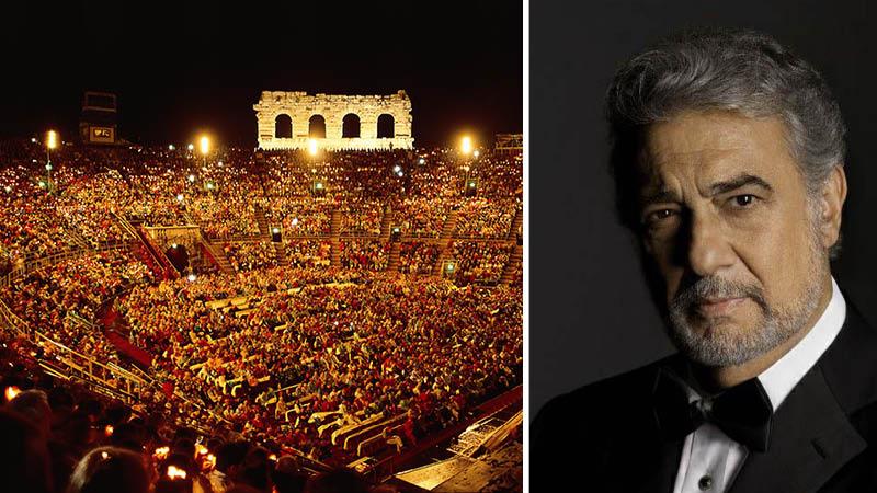 Oplev Placido Domingo i Toscana og Verona