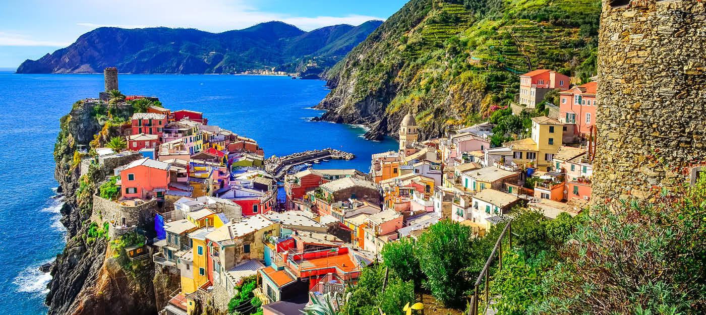 Charmerende Cinque Terre i Italien