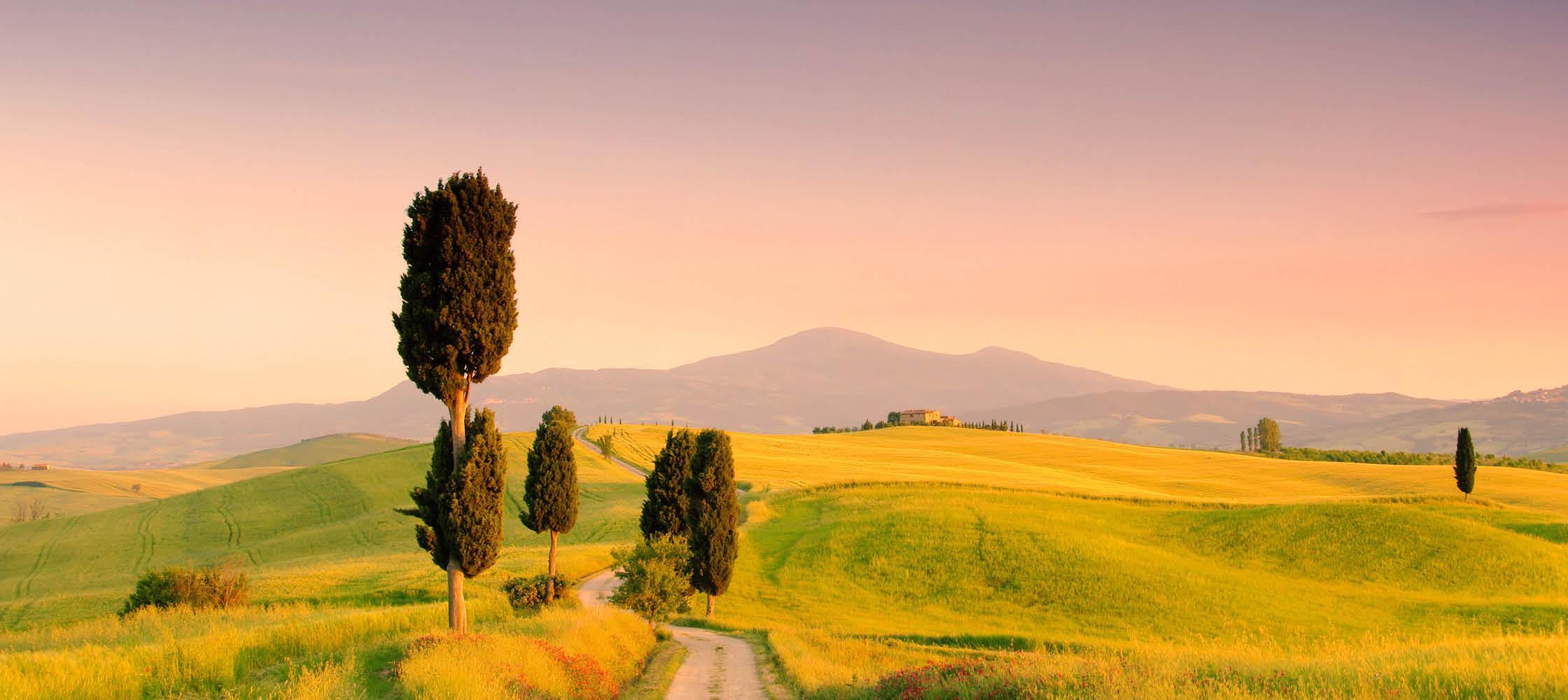 Toscanas skønne landskab