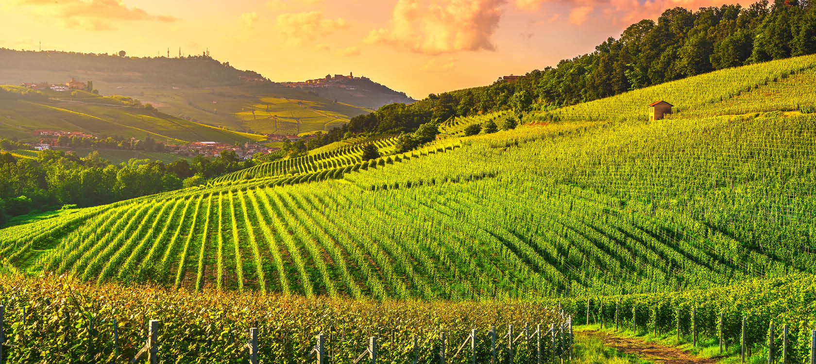 Oplev det eventyrlige landskab i Piemonte regionen