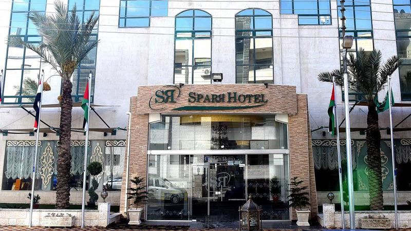 indgang på Sparr Hotel Amman i Jordan