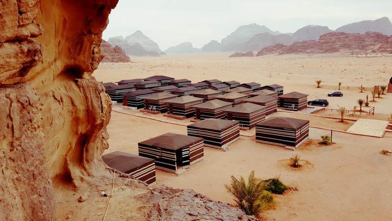 Zawaideh Camp wadi rum jordan
