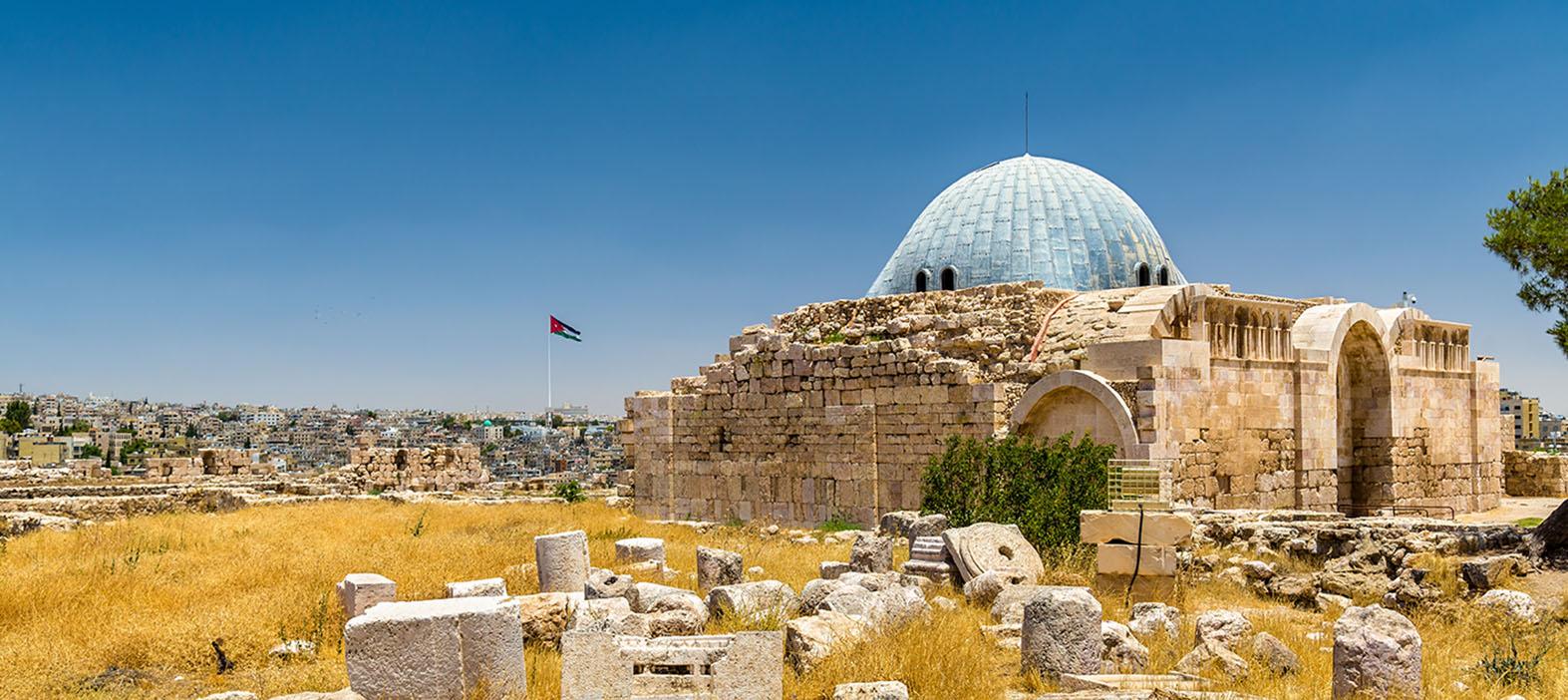 Umayyad-paladset i Amman