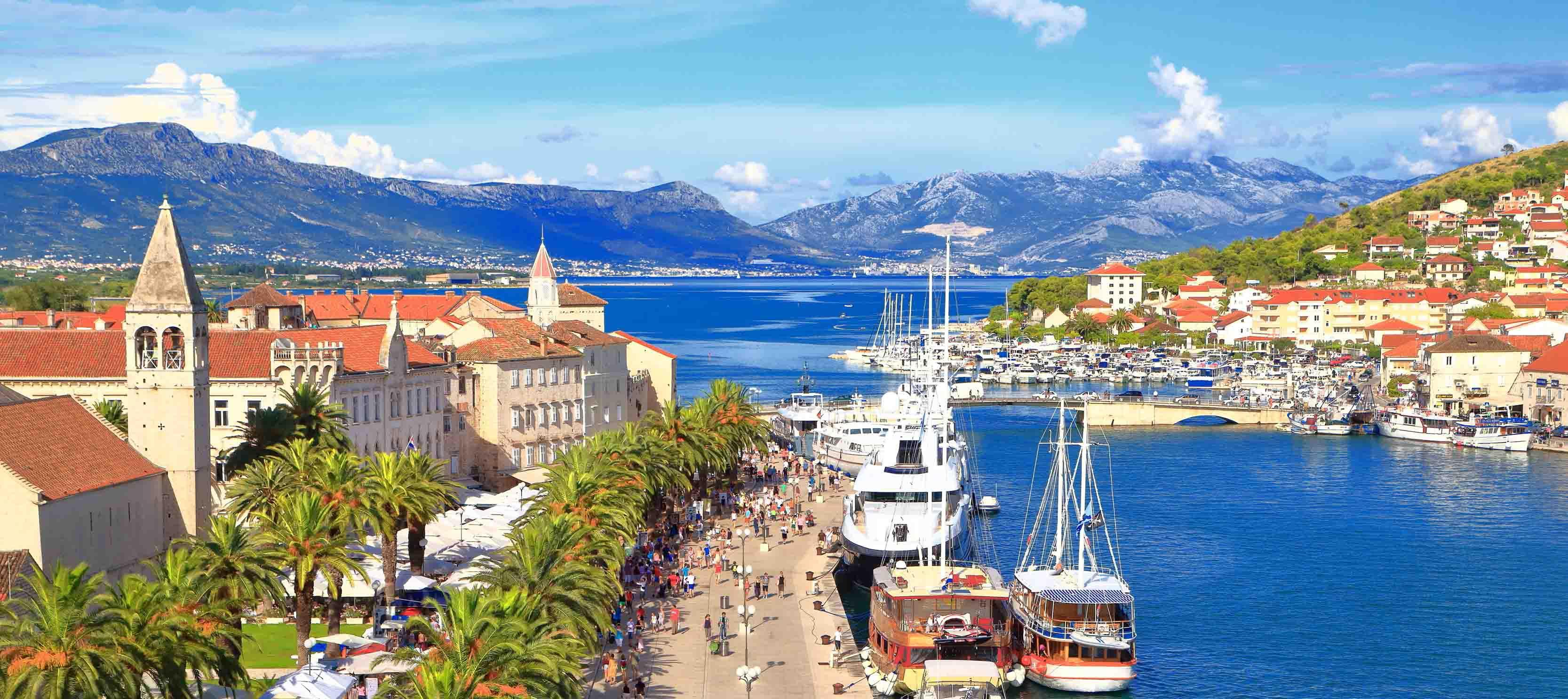 Kroatiens smukke kyst