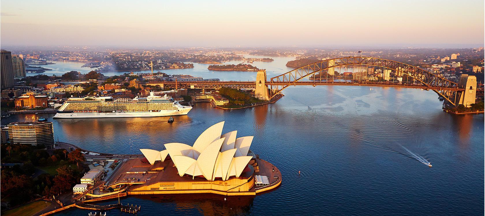 Krydstogtrejse til Australien - Operahuset i Sidney