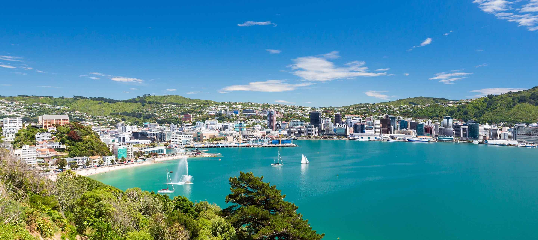 Wellington i New Zealand
