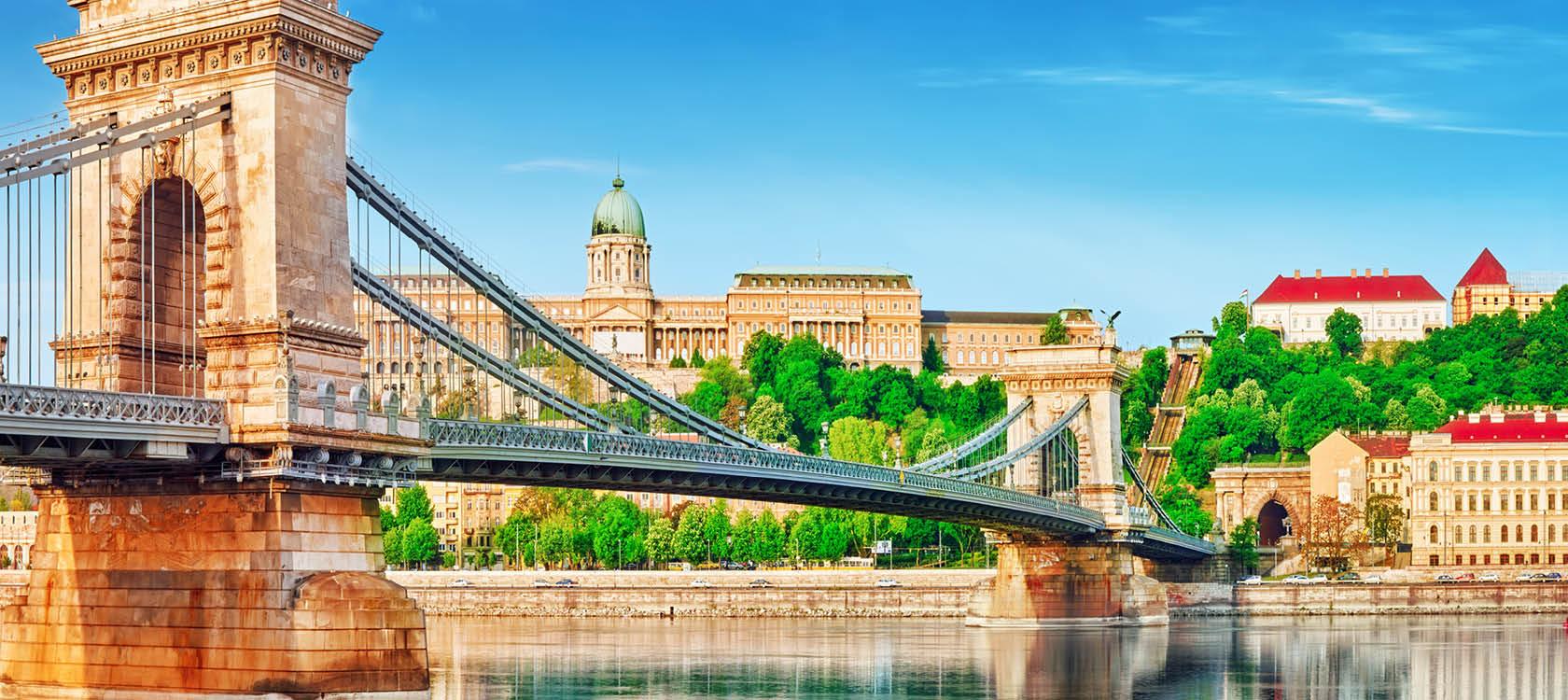 Flodkrydstogt på Donau