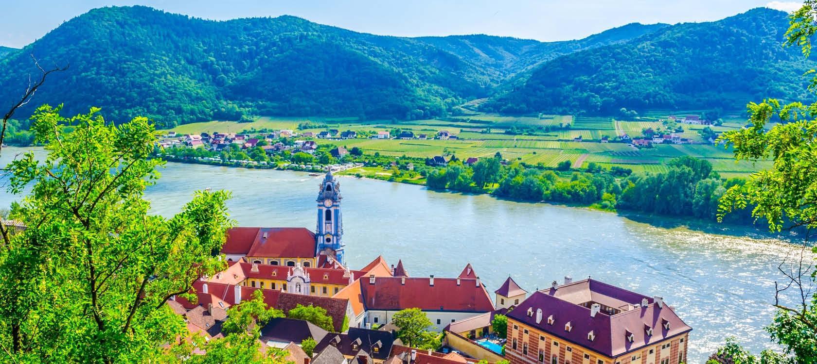 Donaufloden, Durnstein, Østrig