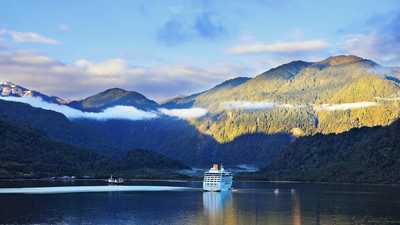 Krydstogt på fjordene i Chile