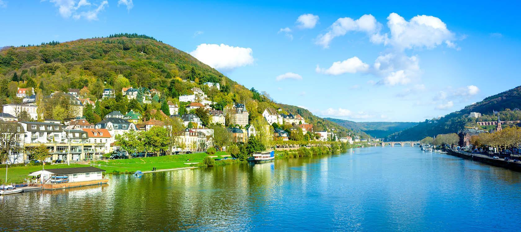 Sejl med på Rhinen og oplev bl.a Tyskland