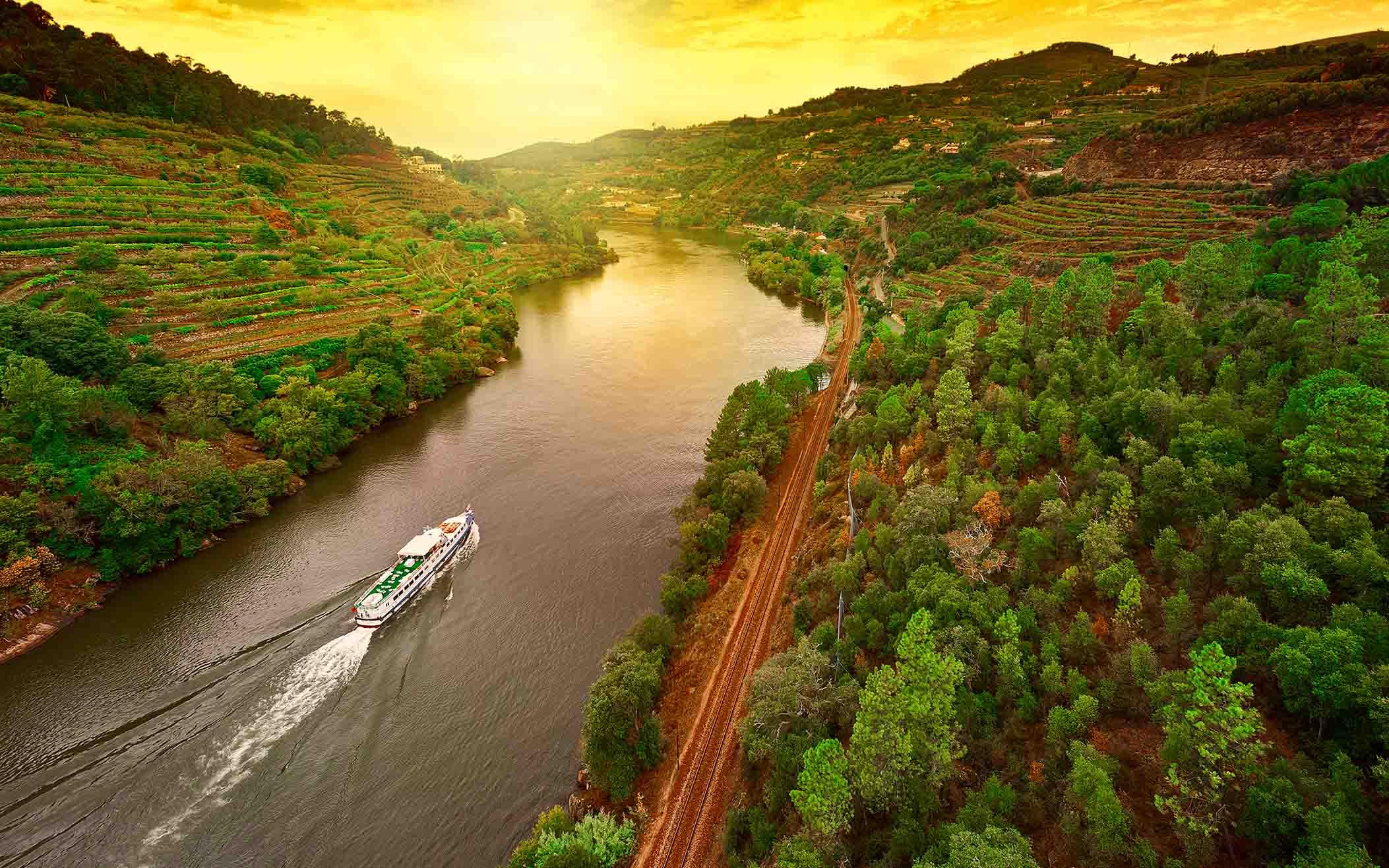 Flodkrydstogt på Douro-floden