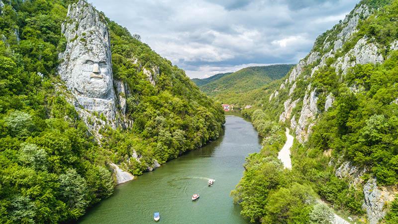 Flodkrydstogt gennem Jernporten, Rumænien